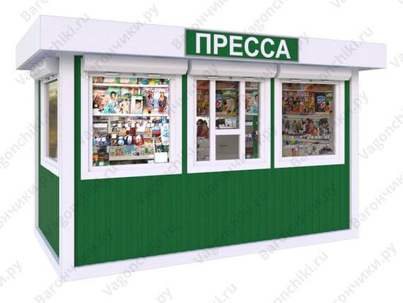 Купить ларёк, киоск, павильон для торговли в Москве и Санкт-Петербурге